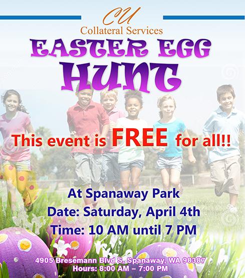 Easter Hunt Poster Design